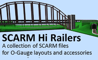 Scarm Hi Railers<br>layout design software