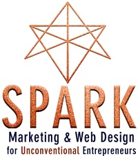 Spark Your Work<br>Marketing & Web Design<br>for Unconventional Entrepreneurs